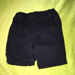 Navy Blue Toddler Boy Shorts
